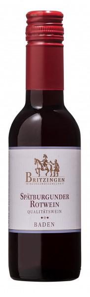 2014 Spätburgunder Rotwein QbA 0,25 l