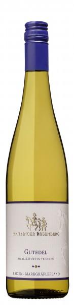 2017 Britzinger Rosenberg Gutedel Qualitätswein trocken